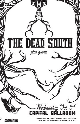 The Dead South, Leeroy Stagger, Del Suelo @ Capital Ballroom Oct 3 2018 - Feb 23rd @ Capital Ballroom