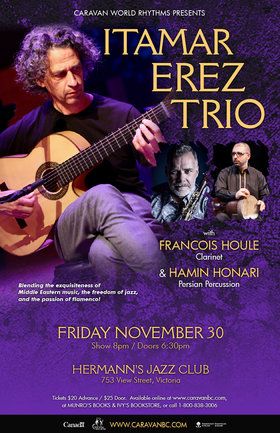 Caravan World Rhythms Presents: The Itamar Erez Trio @ Hermann