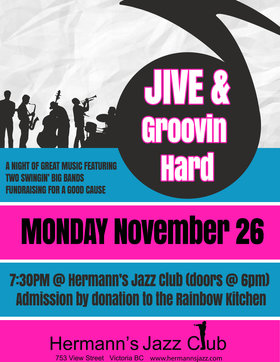Two Big Bands: Jive & Groovin' Hard @ Hermann