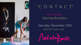 """C O N T A C T"" - New Works, Opening Reception.: Natalie Brake, Vivian Vanderpuss @ Natalie Brake Studio Nov 10 2018 - Jan 16th @ Natalie Brake Studio"