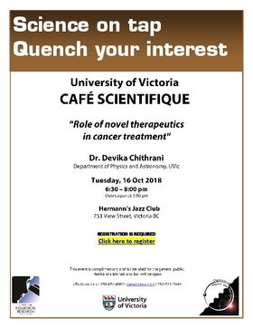 "Cafe Scientifique - ""The Role in Novel Therapeutics in Cancer Treatment"" @ Hermann"