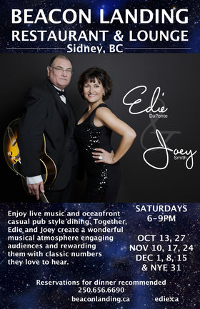 Edie DaPonte, Joey Smith @ Beacon Landing Restaurant & Lounge Oct 27 2018 - Dec 13th @ Beacon Landing Restaurant & Lounge