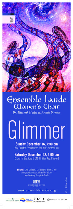 Glimmer @ Church of the Advent, Colwood Dec 22 2018 - Mar 21st @ Church of the Advent, Colwood