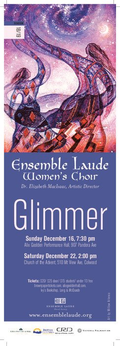 Glimmer @ Church of the Advent, Colwood Dec 22 2018 - Dec 18th @ Church of the Advent, Colwood