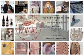 Nomad Holiday Market @ 253 esquimalt rd Nov 30 2018 - Jan 16th @ 253 esquimalt rd