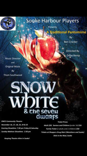 Snow White and the Seven Dwarfs @ EMCS Nov 17 2018 - Mar 24th @ EMCS