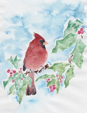 Christmas Cardinals Workshop with Wine/Cheese: Richard Wong @ SHOAL Centre Dec 8 2018 - Dec 12th @ SHOAL Centre