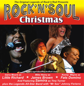 Rock-n-Soul Christmas @ McPherson Playhouse Dec 5 2018 - Dec 11th @ McPherson Playhouse