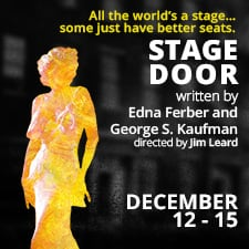 Stage Door @ Canadian College of Performing Arts, 1701 Elgin Road, Victoria Dec 12 2018 - Dec 13th @ Canadian College of Performing Arts, 1701 Elgin Road, Victoria