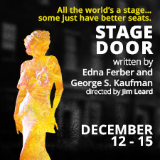 Stage Door @ Canadian College of Performing Arts, 1701 Elgin Road, Victoria Dec 12 2018 - Dec 16th @ Canadian College of Performing Arts, 1701 Elgin Road, Victoria