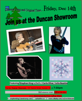 Stephen King, Carla Olive, Julia Beattie @ Duncan Showroom Dec 14 2018 - Nov 17th @ Duncan Showroom