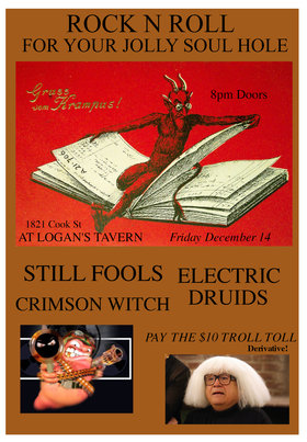 Still Fools / Crimson Witch / Electric Druids: Still Fools, Electric Druids, Crimson Witch @ Logan