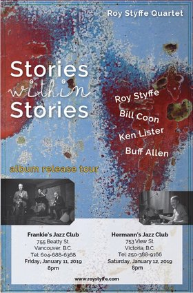 Styffe // Coon // Lister // Allen  CD Release @ Hermann's Jazz Club Jan 12 2019 - Jan 21st @ Hermann's Jazz Club
