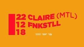 Frequency Saturday w/: Claire, Fnkstll @ Copper Owl Dec 22 2018 - Mar 21st @ Copper Owl
