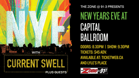 Current Swell @ Capital Ballroom Dec 31 2018 - Jan 18th @ Capital Ballroom