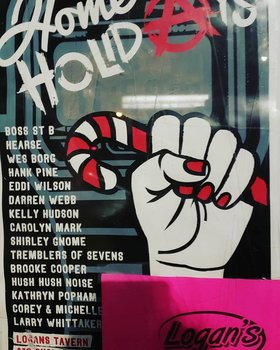 Home For the Holidays: ANARCHY!: Carolyn Mark, Hearse, Shirley Gnome, Wes Borg, Tremblers of Sevens, Eddi Wilson , Brooke Cooper, Kathryn Popham, Boss St B, Kelly Hudson, Darren Webb, Corey Francis and Michelle Fillion @ Logan