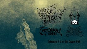 Harrow, FINITE, Crematory Ash, Liminal Shroud @ Copper Owl Feb 16 2019 - Feb 22nd @ Copper Owl