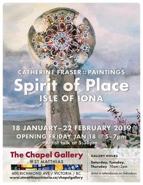 Spirit of Place - Isle of Iona: Catherine Fraser (presenter) @ St Matthias Church Jan 18 2019 - Jun 19th @ St Matthias Church
