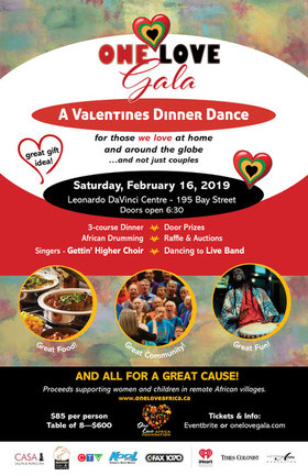 OneLove Valentines Dinner Dance Gala: The Gettin