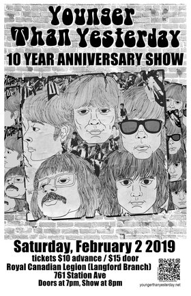 10 Year Anniversary Show @ Langford Legion (Prince Edward) Feb 2 2019 - Jun 19th @ Langford Legion (Prince Edward)