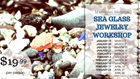 Sea Glass Jewelry Workshop @ Maritime Museum of BC Jan 19 2019 - Jun 19th @ Maritime Museum of BC