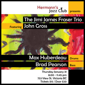 Jimi James Fraser f. John Gross on Saxophone from L.A. @ Hermann