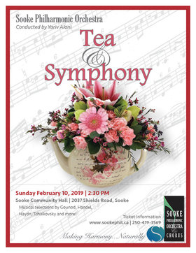 Tea & Symphony: Yariv Aloni, Sooke Philharmonic Music Director @ Sooke Community Hall Feb 10 2019 - Feb 22nd @ Sooke Community Hall