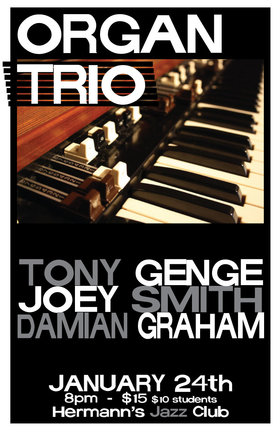 Damian Graham Trio @ Hermann
