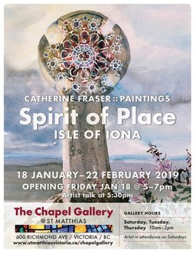 Spirit of Place, Isle Of Iona: Catherine Fraser @ Chapel Gallery , Jan 18 2019 - Jun 16th @ Chapel Gallery ,