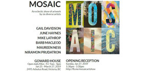 MOSAIC - Group Art Show: Gail Tovah Davidson, Maureen Ness, Mike Lathrop, June Haynes, Niramon Prudtatron, Barb MacLeod @ Goward House Gallery Jan 27 2019 - Jun 17th @ Goward House Gallery