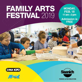 Family Arts Festival @ The Arts Centre at Cedar Hill Feb 18 2019 - Feb 22nd @ The Arts Centre at Cedar Hill