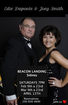 Live Jazz: Edie DaPonte, Joey Smith @ Beacon Landing Restaurant & Lounge Feb 23 2019 - Jun 18th @ Beacon Landing Restaurant & Lounge