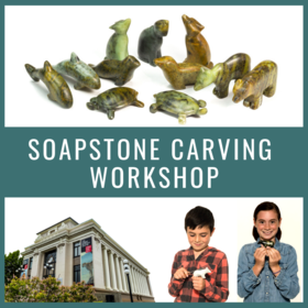 Family Day Soapstone Carving Workshop @ The Robert Bateman Centre Feb 18 2019 - Feb 19th @ The Robert Bateman Centre