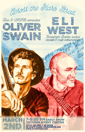 Oliver Swain, Eli West @ Victoria Event Centre Mar 2 2019 - Feb 22nd @ Victoria Event Centre