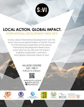International Development Week in Victoria 2019: Local Action. Global Impact. @ Hillside Centre Feb 9 2019 - Feb 22nd @ Hillside Centre