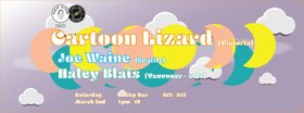 Regular Occasion #5: Cartoon Lizard (Victoria), Joe Waine  (Seattle), Haley Blais  (Vancouver) @ Lucky Bar Mar 2 2019 - Mar 18th @ Lucky Bar