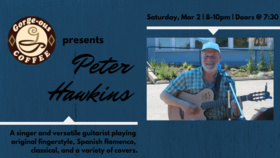 Peter Hawkins  @ Gorge-ous Coffee Mar 2 2019 - Jul 23rd @ Gorge-ous Coffee