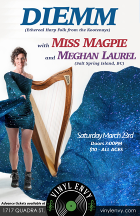Diemm (feat. Oliver Swain), Miss Magpie, Meghan Laurel @ Vinyl Envy Mar 23 2019 - Mar 19th @ Vinyl Envy