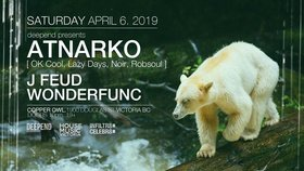 Deepend presents:: Atnarko, J Feud, Wonderfunc @ Copper Owl Apr 6 2019 - Mar 19th @ Copper Owl