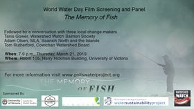 World Water Day Film Screening and Discussion Panel @ Hickman Building, UVIC, Rm 105 Mar 21 2019 - Jul 23rd @ Hickman Building, UVIC, Rm 105