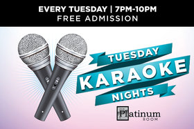 Tuesday Karaoke Night: Drew Arrington @ Elements Casino - Victoria Mar 12 2019 - Aug 19th @ Elements Casino - Victoria