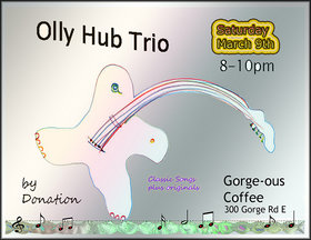OLLY HUB @ Gorge-ous Coffee Mar 9 2019 - Mar 19th @ Gorge-ous Coffee