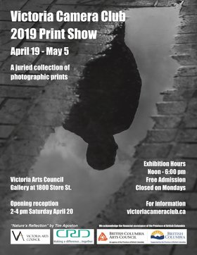 Victoria Camera Club 2019 Print Show: Members of the Victoria Camera Club @ Victoria Arts Council Gallery 1800 Store Street Apr 19 2019 - Apr 25th @ Victoria Arts Council Gallery 1800 Store Street