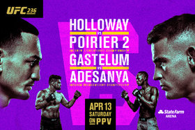 UFC 236 Viewing Party at Elements Casino Victoria @ Elements Casino - Victoria Apr 13 2019 - Apr 19th @ Elements Casino - Victoria