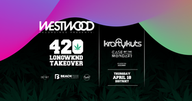 Westwood Recordings 420 Weekend Takeover: Krafty Kuts, Case of the Mondays, Sideway @ Distrikt Apr 18 2019 - Apr 19th @ Distrikt