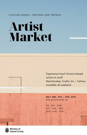 Artist Market: Elise Hendrickson, Stefanie Mudry @ The Ministry of Casual Living May 3 2019 - Apr 23rd @ The Ministry of Casual Living