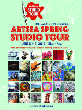 ArtSea 2019 Spring Studio Tour @ ArtSea 2019 Spring Studio Tour Jun 8 2019 - Jun 18th @ ArtSea 2019 Spring Studio Tour