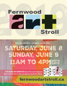 FERNWOOD ART STROLL @ Fernwood Art Stroll Jun 8 2019 - Jun 18th @ Fernwood Art Stroll