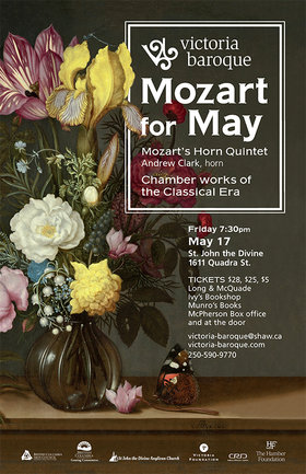 Mozart for May: Victoria Baroque @ St. John The Divine May 17 2019 - Oct 18th @ St. John The Divine
