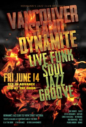 Vancouver Island Dynamite @ Hermann's Jazz Club Jun 14 2019 - Jun 16th @ Hermann's Jazz Club